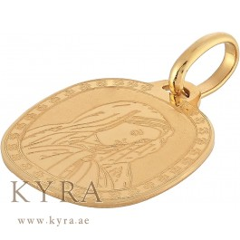 Mother mary pendant in 18k yellow gold mother mary pendant in 18k yellow gold aed55000 aloadofball Image collections