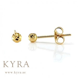 61af7f5dc 18K Yellow Gold Small Stud Earrings