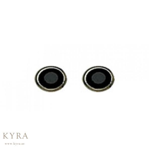 184c 4mm Black Onyx Ear Stud