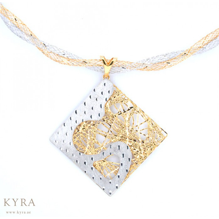 gold pin pendant chopard square yellow happy diamonds com necklace