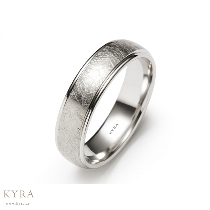 plated simple bands couple rings silver platinum europe
