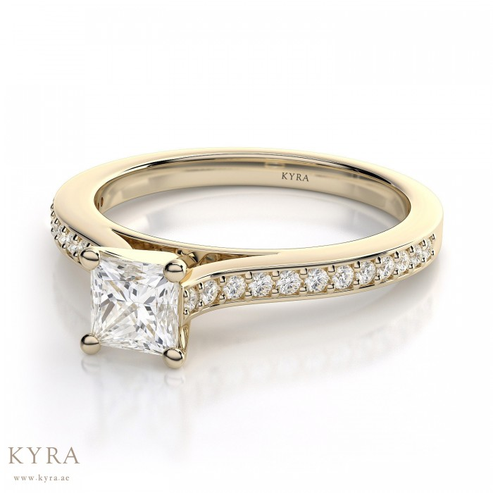 diamond summer princess t cut rings gold w at delmar shop zales in white engagement special quad ring shopping ct