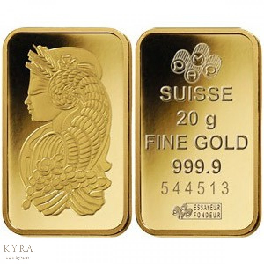 20grams Pamp Suisse Gold Bar