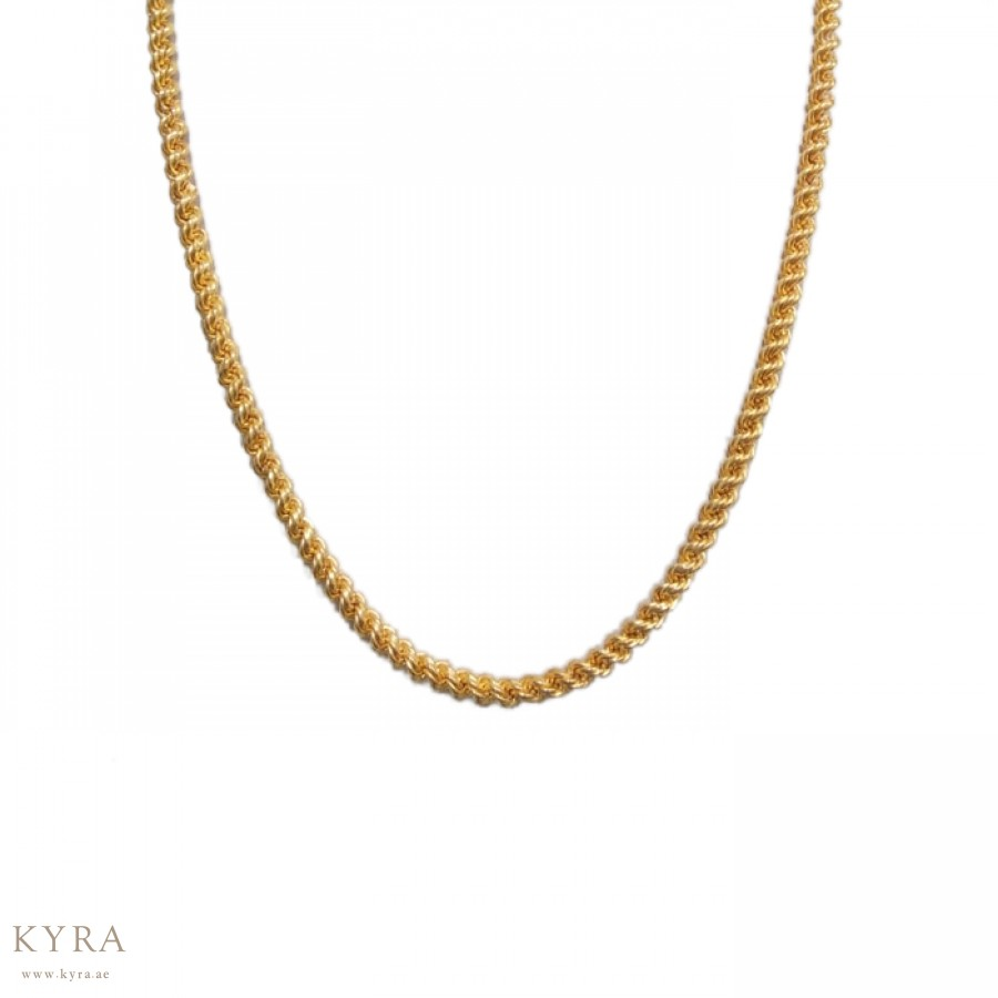 22l Yellow Gold Rope Chain