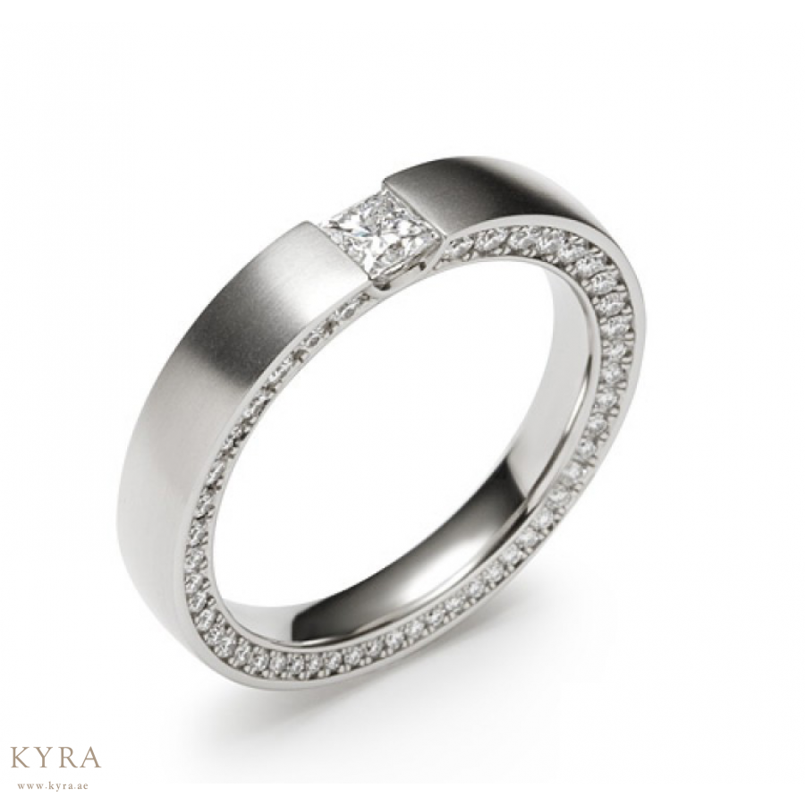 ea9e8f977962 Men s Platinum Ring with Diamonds