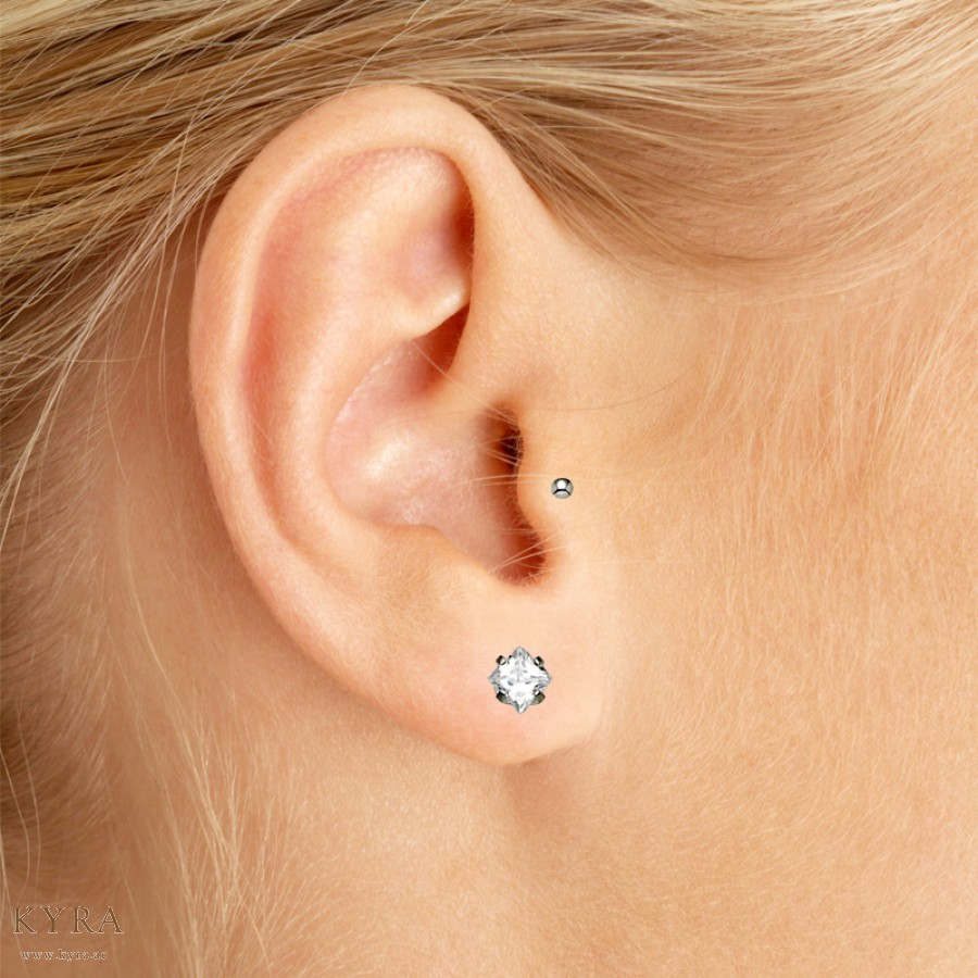Single Tragus Piercings Jpg