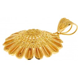 22k gold jewelry quick view filigree pendant 22k yellow gold aloadofball Images