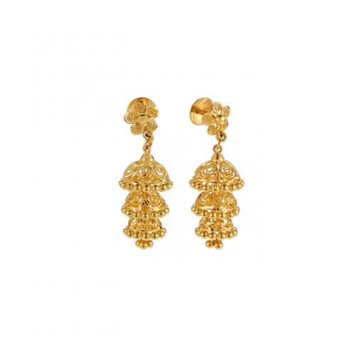 Earrings 22k Gold Jewelry