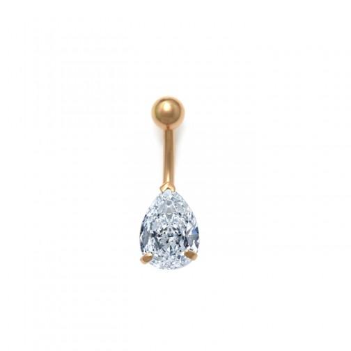 Belly 18k Gold Body Jewelry Piercings