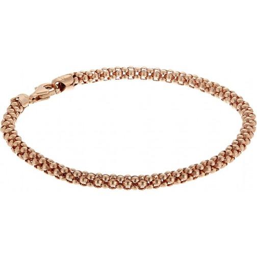 Popcorn Bracelet 18k Rose Gold